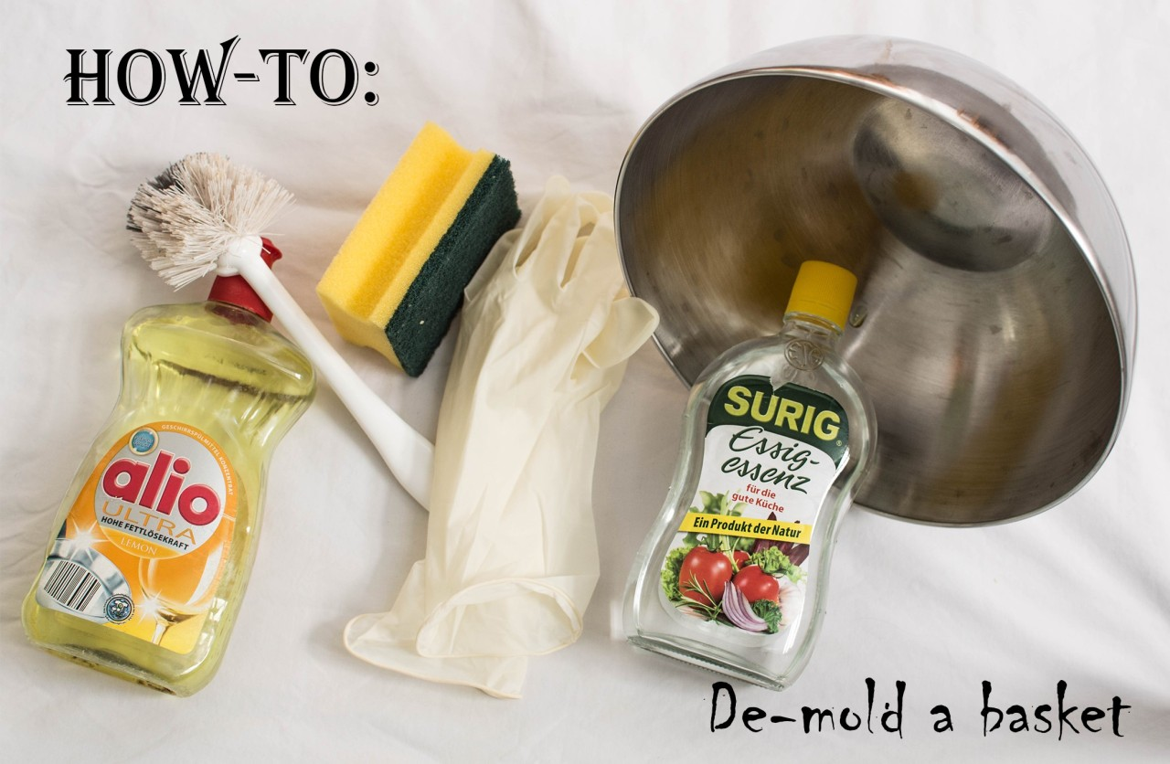 How-To: Clean your moldy basket!